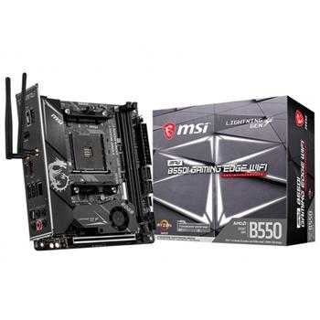 MSI MPG B550I Gaming Edge WiFi Presa AM4 mini ITX AMD B550