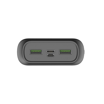 Celly Powerbank Energy 20000 [SHOCK] batteria portatile Ioni di Litio 20000 mAh Nero
