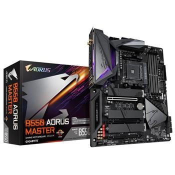 Gigabyte B550 Aorus Master Presa AM4 ATX AMD B550