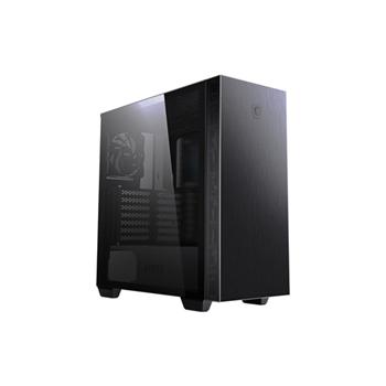 MSI MPG SEKIRA 100P Mid tower 2xUSB 3.0 1xType C 4x120mm Black Fan Tempered Glass Window