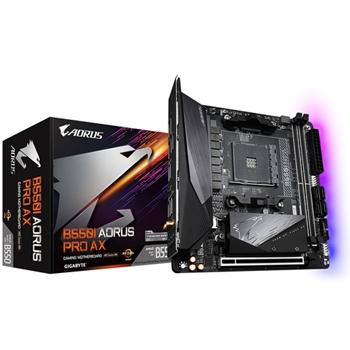 GIGABYTE B550 I AORUS PRO AX AM4 DDR4 2xM.2 4xSATA WiFi 6 DP HDMI mITX