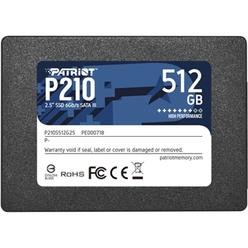 "Patriot Memory P210 2.5"" 512 GB Serial ATA III"