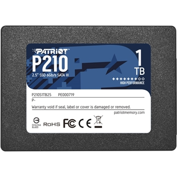 PATRIOT P210 SSD 1TB SATA 3 Internal Solid State Drive 2.5inch
