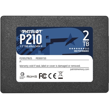 PATRIOT P210 2TB SSD SATA 3 Internal Solid State Drive 2.5inch