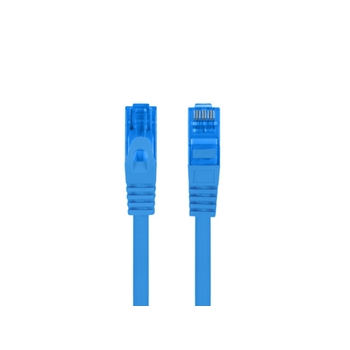 LANBERG patchcord cat.6A FTP LSZH CCA 0.5m blue