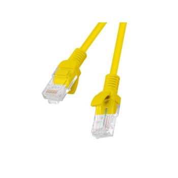 Lanberg PCU5-10CC-3000-Y cavo di rete Giallo 30 m Cat5e U/UTP (UTP)