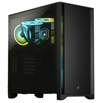 CORSAIR 4000D Tempered Glass Mid-Tower Black case