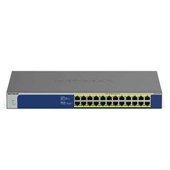 Netgear GS524PP Non gestito Gigabit Ethernet (10/100/1000) Grigio Supporto Power over Ethernet (PoE)