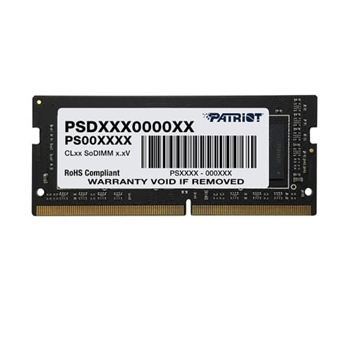 PATRIOT Signature Series DDR4 16GB 2666MHz CL19 SODIMM Single