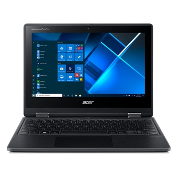 "Acer TravelMate Spin B3 NX.VN2ET.006 notebook/portatile Ibrido (2 in 1) 29,5 cm (11.6"") 1920 x 1080 Pixel Touch screen Intel® Celeron® N 4 GB DDR4-SDRAM 64 GB Flash Wi-Fi 5 (802.11ac) Windows 10 Pro Education Nero"
