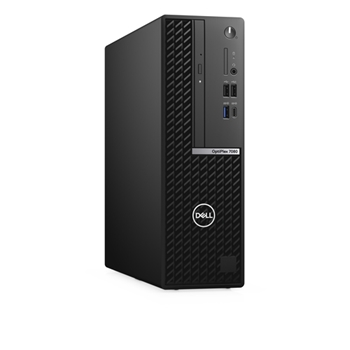 DELL OptiPlex 7080 Intel® Core™ i7 di decima generazione i7-10700 16 GB DDR4-SDRAM 512 GB SSD SFF Nero PC Windows 10 Pro