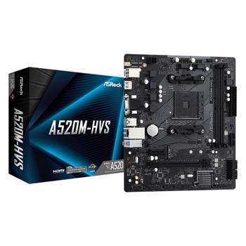 Asrock A520M-HVS Presa AM4 micro ATX