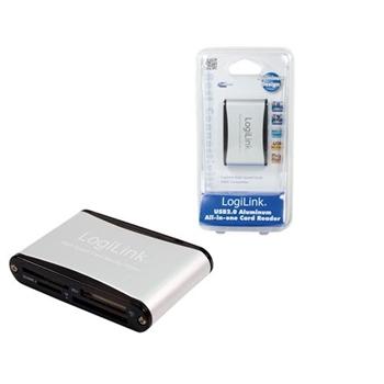 LOGILINK Memory card reader USB 2.0 external 56-w-1 w. SD HC CR0001B