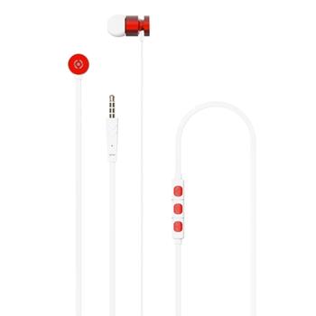 Celly UP1000 Cuffia Auricolare Rosso Connettore 3.5 mm