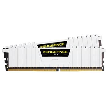 CORSAIR 16GB RAMKit 2x8GB DDR4 3200MHz 2x288 Dimm 16-18-18-36 Vengeance LPX White Heat Spreader 1,35V XMP2.0