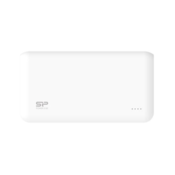 SILICON POWER S150 Power Bank 15000mAH dual output USB LED White