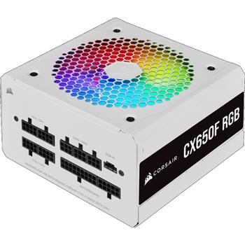 PC- Netzteil Corsair CX650F RGB Weiß (CP-9020226-EU)
