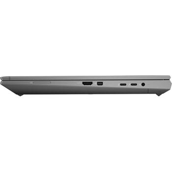 """HP ZBook Fury 15 G7 Workstation mobile Argento 39,6 cm (15.6"""") 1920 x 1080 Pixel Intel® Core™ i7 di decima generazione 16 GB DDR4-SDRAM 512 GB SSD NVIDIA Quadro T2000 Wi-Fi 6 (802.11ax) Windows 10 Pro"""