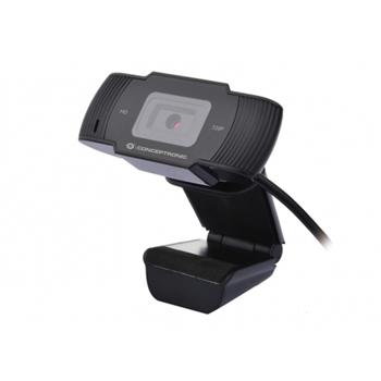 Conceptronic AMDIS 720P HD with Microphone webcam 1280 x 720 Pixel USB 2.0 Nero