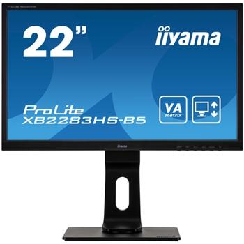 "iiyama ProLite XB2283HS-B5 LED display 54,6 cm (21.5"") 1920 x 1080 Pixel Full HD Nero"
