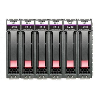 HPE MSA HDD 14.4TB 2.5inch SAS 12G Enterprise 10K M2 6-pack Bundle