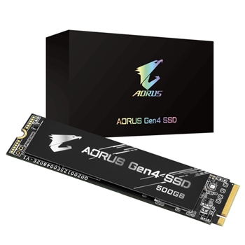Gigabyte AORUS M.2 500 GB PCI Express 4.0 3D TLC NAND NVMe