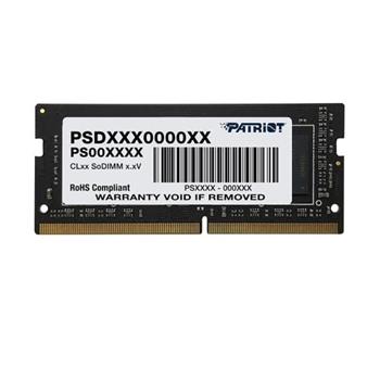 PATRIOT Signature Series 8GB DDR4 1x8GB 3200MHz SODIMM Single