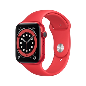 APPLE Watch Series 6 GPS 40mm PRODUCT RED Aluminium Case with PRODUCT RED Sport Band - Regular