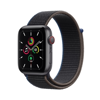 APPLE Watch SE GPS + Cellular 44mm Space Gray Aluminium Case with Charcoal Sport Loop