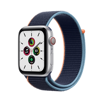Apple Watch SE 44 mm OLED 4G Argento GPS (satellitare)