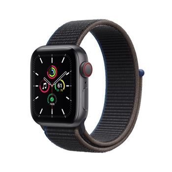 APPLE Watch SE GPS + Cellular 40mm Space Gray Aluminium Case with Charcoal Sport Loop