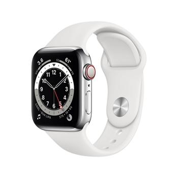 Apple Watch Series 6 40 mm OLED 4G Argento GPS (satellitare)