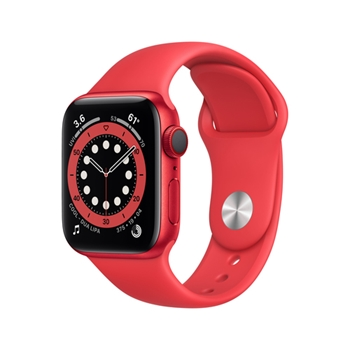 APPLE Watch Series 6 GPS + Cellular 40mm PRODUCT RED Aluminium Case with PRODUCT RED Sport Band - Regular