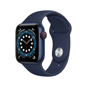 Apple Watch Series 6 40 mm OLED 4G Blu GPS (satellitare)