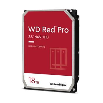 Western Digital HDD WD Red Pro WD181KFGX 18TB/8,9/600/72 Sata III 512MB (D) (CMR)