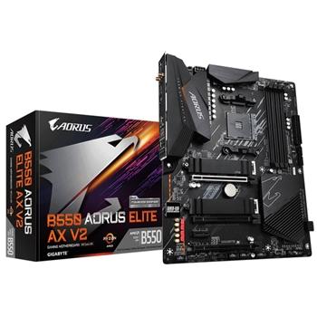 GIGABYTE B550 AORUS ELITE AX V2 AM4 DDR4 2xM.2 4xSATA HDMI ATX MB