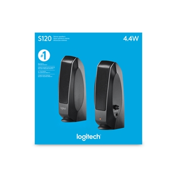 LOGITECH SPEAKER 2.0 S120 NERO 980-000010