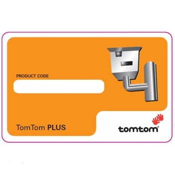 TomTom Safety Camera Scrath Card