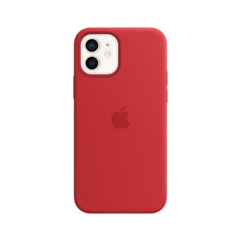 Apple Custodia MagSafe in silicone per iPhone 12 | 12 Pro - (PRODUCT)RED