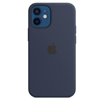 Apple Custodia MagSafe in silicone per iPhone 12 mini - Deep Navy