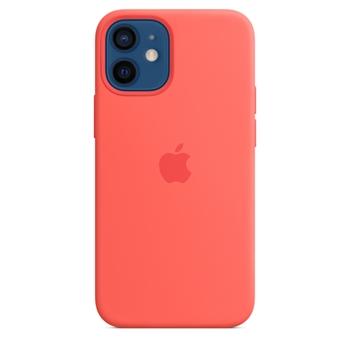 Apple Custodia MagSafe in silicone per iPhone 12 mini - Rosarancio
