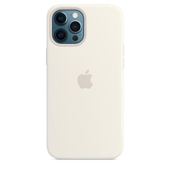 Apple Custodia MagSafe in silicone per iPhone 12 Pro Max - Bianco