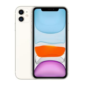 """Apple iPhone 11 128GB 6.1"""" White ITA Slim Box MHDJ3QL/A"""