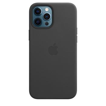 Apple Custodia MagSafe in pelle per iPhone 12 Pro Max - Nero