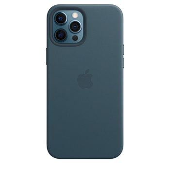 Apple Custodia MagSafe in pelle per iPhone 12 Pro Max - Blu Baltico