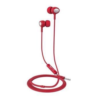 Celly UP500 Cuffia Auricolare Connettore 3.5 mm Rosso