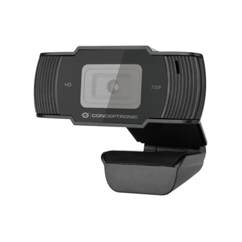 CONCEPTRONIC 720P HD USB WEBCAM WITH MICROPHONE