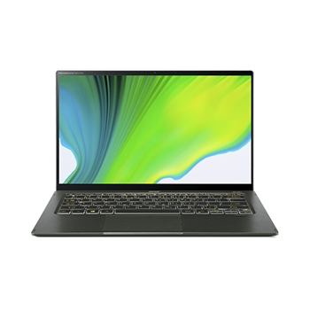 "Acer Swift 5 SF514-55GT-78FL Computer portatile 35,6 cm (14"") 1920 x 1080 Pixel Touch screen Intel Core i7-11xxx 8 GB LPDDR4x-SDRAM 512 GB SSD NVIDIA GeForce MX350 Wi-Fi 6 (802.11ax) Windows 10 Home Verde"