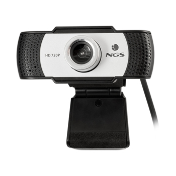 NGS XpressCam720 webcam 1280 x 720 Pixel USB 2.0 Nero, Grigio, Argento