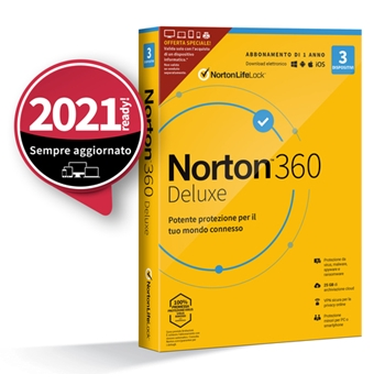 NORTON 360 DELUXE 2020 3D ATTACH